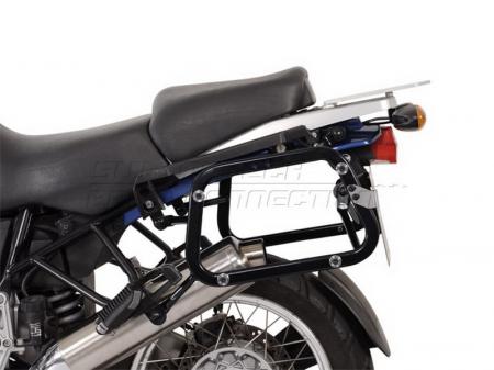 Sistem cutii laterale Trax Adv aluminiu Negru . 37/45 l. BMW R 1100 / 1150 GS. [1]