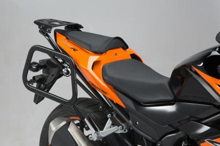 Sistem cutii laterale Trax Adv aluminiu Negru . 45/45 l. Honda CB500F / CBR500R (16-). [1]