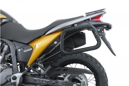 Sistem cutii laterale TRAX ADV aluminiu Negru . 45/45 l. Honda XL 700 V Transalp (07-12).1