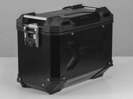 Sistem cutii laterale Trax Adv aluminiu Negru . 45/45 l. Kawasaki Versys 650 (15-). [1]