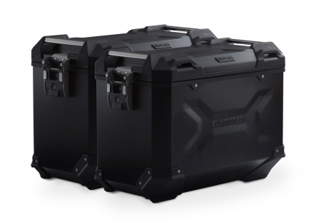 Sistem cutii laterale Trax Adv aluminiu Negru .45/45 l. KTM 990 SM / SM-T / SM-R / 950 SM