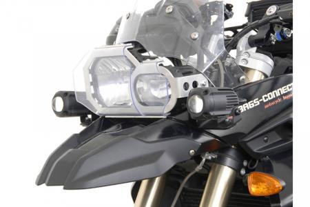 Sistem montare proiectoare ceata negru. BMW F 800 GS / F 650 GS. [0]