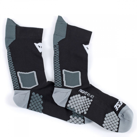 DAINESE MID SOCK BLACK/ANTHRACITE marime S