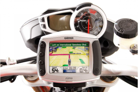 Suport cu absorbant soc pentru GPS Triumph Speed Triple 1050 2010- [3]