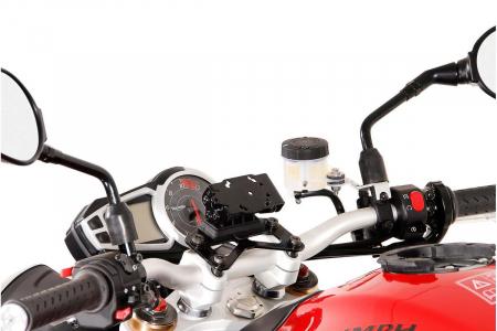 Suport cu absorbant soc pentru GPS Triumph Speed Triple 1050 2010- [1]