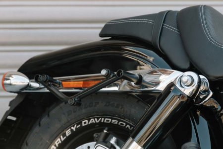 Suport geanta SLC stanga Harley Davidson Dyna Fat Bob (08-).3