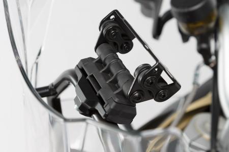 Suport GPS Quick-Lock cu absorbant soc. Montare pe Cross-Bar D13/16 mm. Negru2