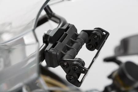 Suport GPS Quick-Lock cu absorbant soc. Montare pe Cross-Bar D13/16 mm. Negru0