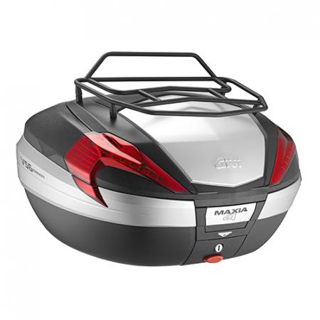 Suport metalic pentru bagaje negru pe Top Case V56 V47-V47 TECH1