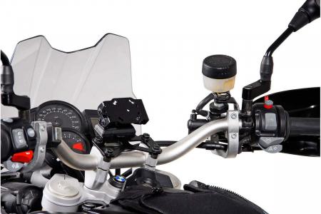 Suport Quick-Lock cu absorbant soc pentru GPS BMW F 650 GS Twin 2007-20111
