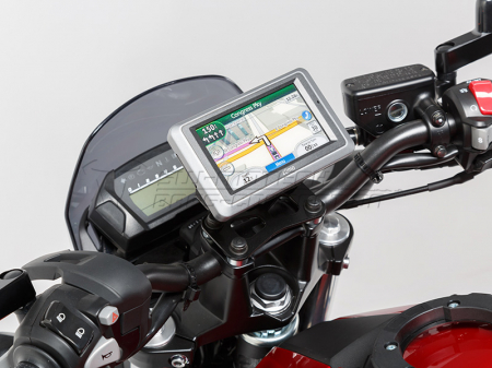 Suport Quick-Lock cu absorbant soc pentru GPS BMW R 1200 R 2007-20100