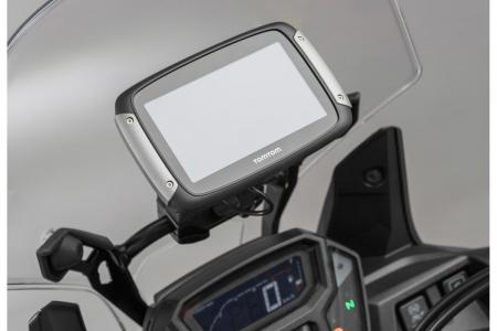 Suport Quick-Lock cu absorbant soc pentru GPS Cross bar BMW R 1100 GS 1994-1999 [0]