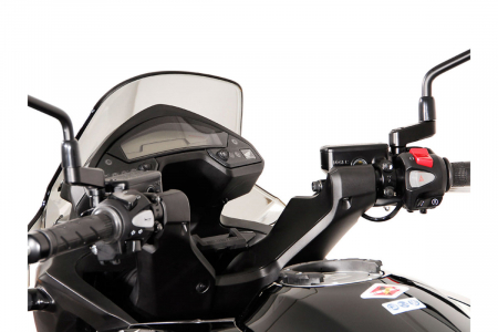Suport Quick-Lock cu absorbant soc pentru GPS Honda VFR 800 X Crossrunner 2011-20142