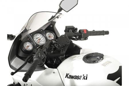 Suport Quick-Lock cu absorbant soc pentru GPS Kawasaki Ninja 250 R 2008-1