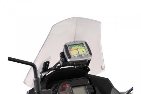 Suport Quick-Lock cu absorbant soc pentru GPS Kawasaki Versys 1000 2012-2014 [0]
