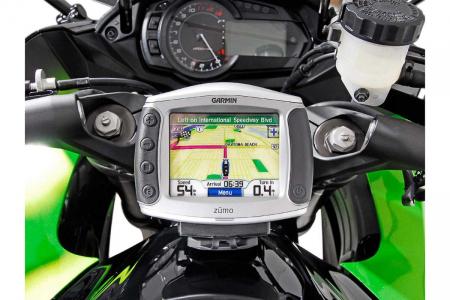 Suport Quick-Lock cu absorbant soc pentru GPS Kawasaki Z 1000 SX 2011-20133