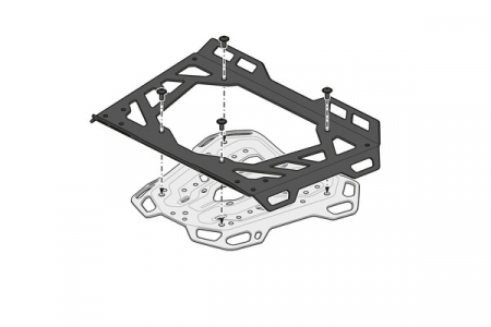 Suport Top Case Adventure-Rack Negru Ducati Multistrada V4 (20-) [5]