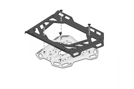 Suport Top Case Adventure-Rack Negru Yamaha Tracer 9 (20-) [5]