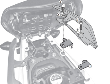 Suport Top Case Honda NC700X '120