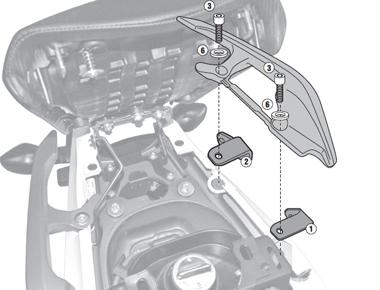 Suport Top Case Honda NC700X '121