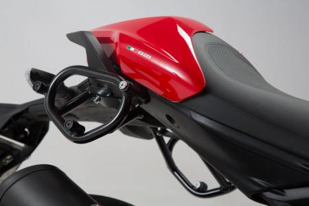 Genti laterale SysBag 15/10 cu sistem fixare pentru Ducati Monster 821 (14-17) / 1200 (14-16).4