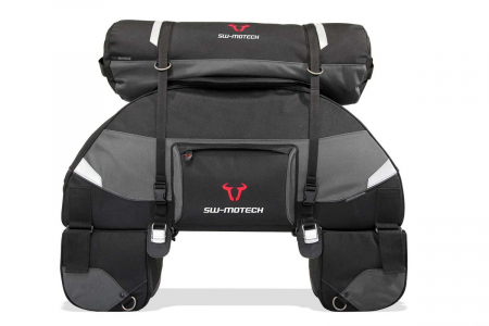 Tentbag tail bag 22 l. Ballistic Nylon. Grey/negru1