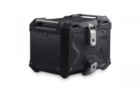 Top Case TRAX ADVENTURE aluminiu 38 L. Negru