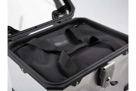 Top Case TRAX ADVENTURE aluminiu 38 L. Negru2