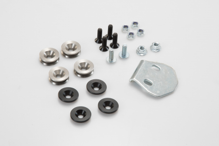 Trax Adv Topcase System argintiu. BMW R1200 R/RS (14-18), R1250 R/RS (18-).
