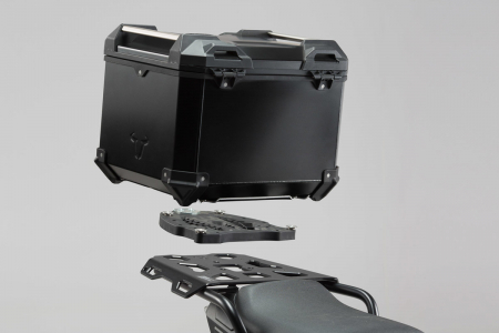 Trax Adv Topcase System. Negru Ducati Multistrada 1200/S, Hyperstrada0