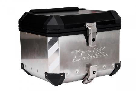 TraxEvo reflective sticker set Pentru 2 TraxEvo side cases or 1 top case. Reflective. Argintiu1