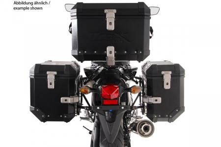 Sistem cutii laterale Trax Ion aluminiu Negru 45/45 l. Honda NC700 S/X, NC750 S/X. [4]