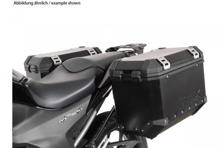 Sistem cutii laterale Trax Ion aluminiu Negru 45/45 l. Honda NC700 S/X, NC750 S/X. [1]