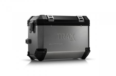 Trax Ion L Side case. Aluminium. 45 l. dreapta. argintiu0