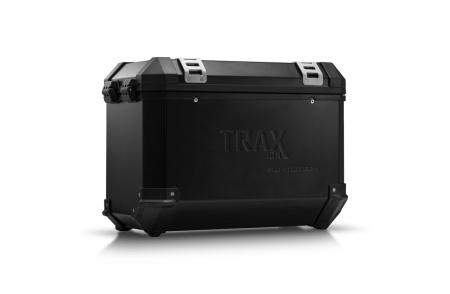Trax Ion L Side case. Aluminium. 45 l. stanga. negru