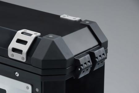 Trax Ion M Side case. Aluminium. 37 l. stanga. argintiu2