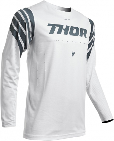 Tricou Cross THOR S20 PRO STR WH/SL XL