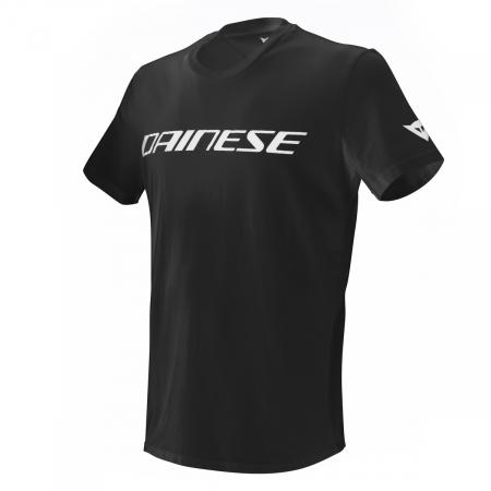 Tricou Dainese DAINESE T-SHIRT BLACK/WHITE marime S