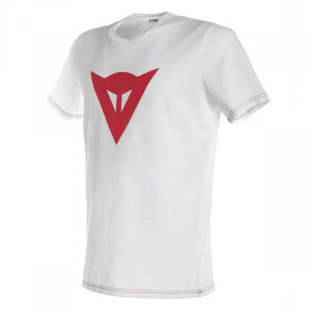 Tricou Dainese SPEED DEMON T-SHIRT WHITE/RED marime XS
