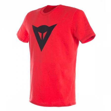 Tricou Dainese SPEED DEMON T-SHIRT RED/BLACK marime L