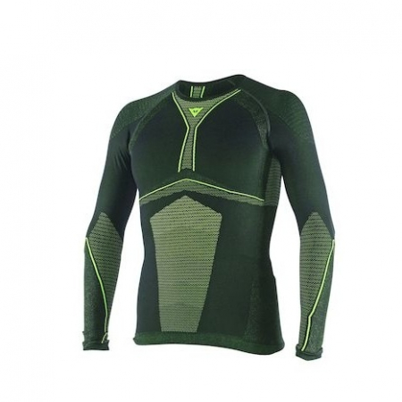 DAINESE D-CORE DRY TEE LS BLACK/FLUO-YELLOW marime XL/X