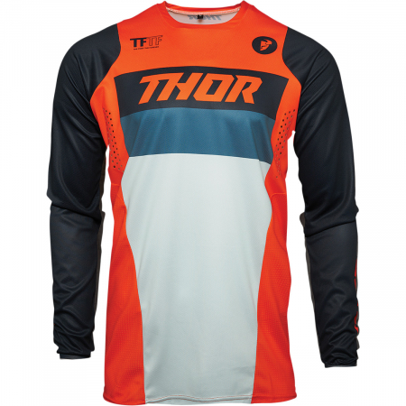 Tricou Off-Road Copii Thor Jrsy Pls Rcr Portocaliu M