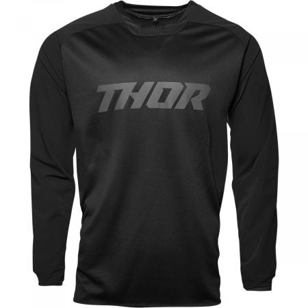 Tricou Off-Road  Thor Jersey Terrain Negru 3XL