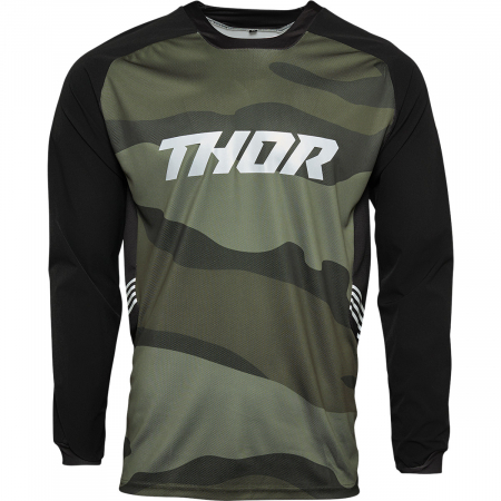 Tricou Off-Road  Thor Jersey Terrain Verde S