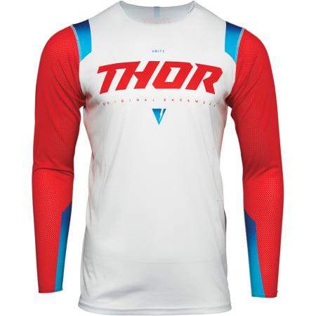 Tricou Off-Road  Thor Jrsy Prm Pro Unite Rosu M