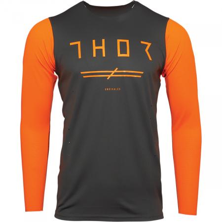 Tricou Off-Road  Thor Jrsy Prm Pro Unr Charcoal/Portocaliu S