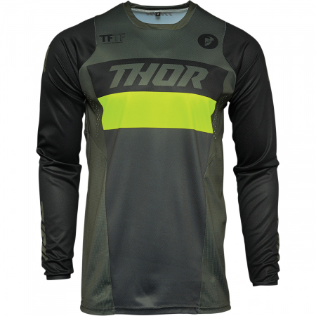 Tricou Off-Road  Thor Jrsy Pulse Racer Army S