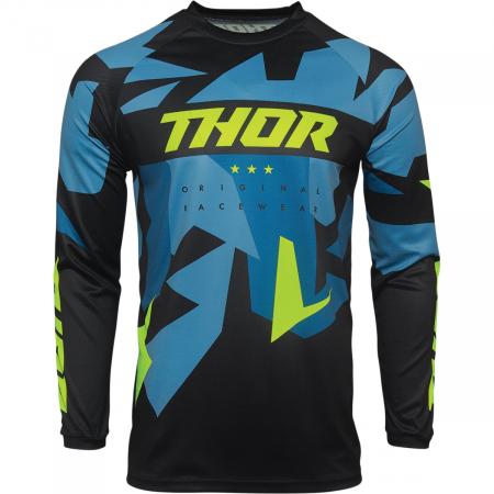 Tricou Off-Road  Thor Jrsy Sctr Warshp Negru 3XL