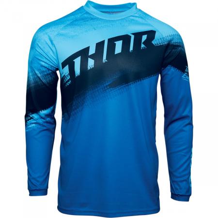 Tricou Off-Road  Thor Jrsy Sector Vapr Albastru M