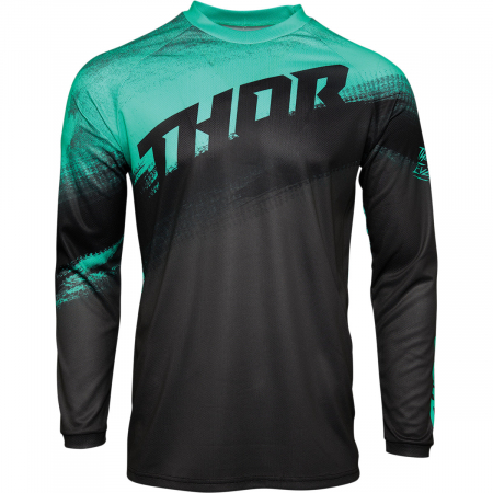 Tricou Off-Road  Thor Jrsy Sector Vapr Charcoal S